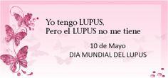 Lazo para el Lupus: Cinta violeta para compartir el 10 de mayo
