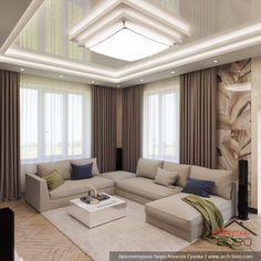 Interior Home Design Trends For 2020 - New ideas Living Room Tv Unit Designs, Ceiling Design Living Room, Home Room Design, Home Ceiling, Home Design Decor, Beige Living Rooms, Cottage Living Rooms, Elegant Living Room, Small Living Rooms