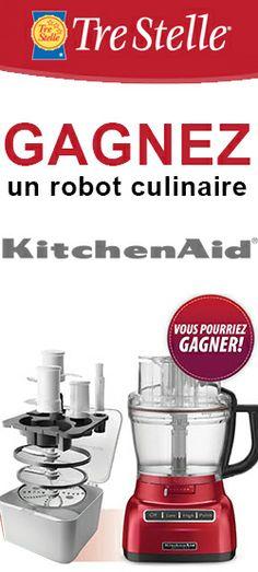 Gagnez un robot culinaire KitchenAid. Fin le 17 janvier.  http://rienquedugratuit.ca/concours/robot-culinaire-kitchenaid/
