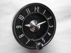 1955-1956 Chevrolet Clock - Serviced and Working with a 30 Day Guarantee + FREE Shipping!!! - $89.88