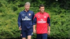 """""""It is a bit of a new start,"""" smiled Arsène Wenger."""