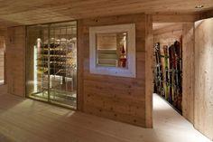 bootroom || Chalet Gstaad. Location: Bern, Switzerland; firm: Ardesia Design Ltd
