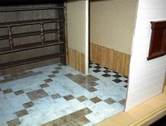 *Life in Miniature*: Floors: Working with Wood Veneer & Vinyl Tile