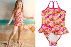 SnapMe Swimwear for Toddler and Little Girls 48-50% off on #KidSteals -- snaps at the bottom of the swimsuit make bathroom breaks so easy for kids!