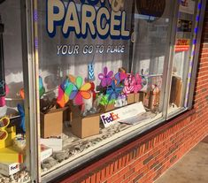 APRIL SHIPPING brings MAY FLOWERS (2018) at Your Go to Place! Store Windows, May Flowers, Packing, Places, Creative, Display Cases, Bag Packaging, May Birth Flowers, Shop Windows
