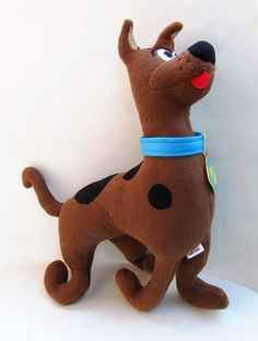 Scooby doo doll animal plush stuffed dog cartoon character hero on Etsy, $76.45