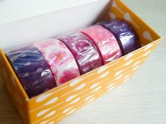 Big girl's favorite mobile gift box, a cute five-time purchase of plastic paper! Washi Tapes, Paper Tape, Small Gifts, Craft Gifts, Paper Crafts, Kid Craft Gifts, Tiny Gifts, Stocking Stuffers, Papercraft