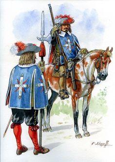 La Sabretache remercie chaleureusement Patrice COURCELLE pour sa superbe contribution au dernier Carnet de La Sabretache ! Mousquetaires, à Toulouse, le 27 octobre 1632, à l'arrivée du duc de Montmorency exécuté le jour suivant...