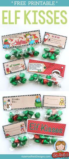 FREE printable Elf K