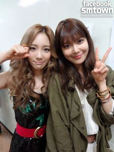 sooyoung and taeyeon