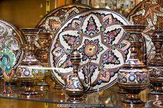 Iranian handicrafts photo. Handicrafts, Isfahan, Iran