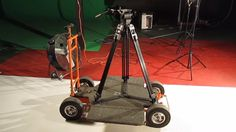 Why spend thousands of dollars on a heavy, clunky camera dolly when you can make your own for $120? Learn how to construct your own dolly and tracks.