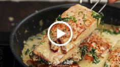 Creamy Garlic Butter Tuscan Salmon Recipe Video