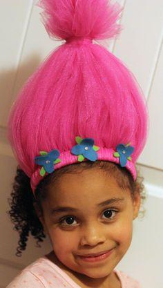 Trolls headband | Trolls Birthday Party Ideas | Trolls Party Favors | Twistin Twirlin Tutus #trollsbirthday