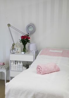 """In-home DIY Garage Reno """"Spa"""" Makeover - beauty room, business, esthetics services, relaxation, pure elegance!"""