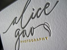 Alica Gao Business Cards by dolcepress, via Flickr