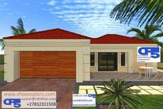 House Plans South Africa, All Design, House Design, Site Plans, 3 Bedroom House, Garage Plans, House Floor Plans, Home Collections, Blessing