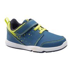 Încălțăminte 555 I LEARN albastru/verde DOMYOS - Decathlon.ro Diy Kleidung, Bleu Marine, Baby Gym, Balenciaga, Swimming, Sneakers, Shoes, Products, Templates