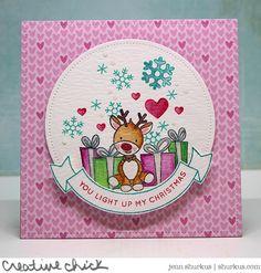 You Light Up My Christmas, Simon Says Stamp December Card Kit | shurkus.com