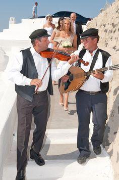Santorini Weddings | Santorini Wedding Music