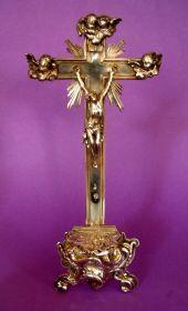 Antiek Zilveren kruis kerk zilver