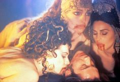 """Vampireses -- Monica Belluci, far right, is one of a few vampiresses in 1992's """"Bram Stoker's Dracula"""" who is drop-dead gorgeous in more ways than one. (Rex)"""