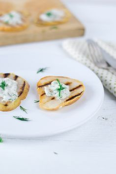 5. #Grill Them - 7 Yummy #Things to do with Pears ... → #Food [ more at http://food.allwomenstalk.com ]  #Grilled #Cheese #Flavor #Blue #Pretty