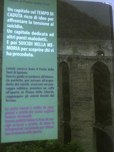 Turismo suicida a Spoleto? E' scandalo per la guida al Ponte delle Torri http://tuttoggi.info/articolo/48620/