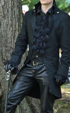 Gothic- Steampunk- Grimm-Frack (Party Top Fashion)