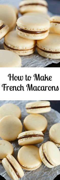French Macaron Recipe with tutorial                                                                                                                                                                                 More
