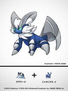 Dibujante oficial del TCG nos muestra cómo serían las fusiones Pokémon - Centro Pokémon