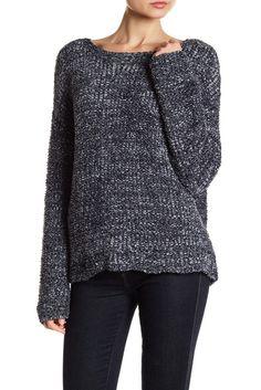 Image of SUSINA Tape Yarn Sweater (Petite Size Available)
