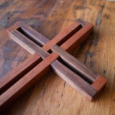 The unity cross is rewarding to build—you only need a few simple tools and entry-level woodworking skills to make it. These plans will give you clea. Woodworking Skills, Woodworking Projects Diy, Woodworking Magazines, Sauder Woodworking, Woodworking Equipment, Woodworking Furniture, Furniture Plans, Wooden Crosses, Wooden Pallet Projects