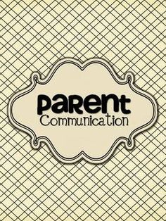 This Parent Communication set will be an added organizational tool for your classroom bookkeeping. It includes various versions of the Communication Log as well as 3 different covers so you can choose one to best suit your needs. Classroom Organisation, Teacher Organization, Teacher Tools, Classroom Fun, Future Classroom, Classroom Management, Teacher Stuff, Organizing Tools, Teacher Sites