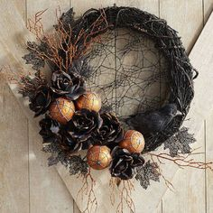 Pier 1 Imports Gothic Glam Lace Wreath