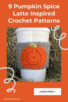 Come look at these awesome 9 Pumpkin Spice Latte Inspired Crochet Patterns These Patterns are so cute and fun and are perfect for you! Pumpkin spice latte crochet patterns are just so fun to make you will have so much fun making. Happy Fall!!! #9PumpkinSpiceLatteInspiredCrochetPatterns #PumpkinSpice #CrochetPatterns Primitive Fall Crafts, Pumpkin Spice Latte, Fall Wreaths, Happy Fall, Fall Decor, Free Pattern, Spices, Crochet Patterns, Make It Yourself
