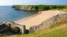 Barafundle Bay, Broadhaven Beach and Bosherton Lily Ponds