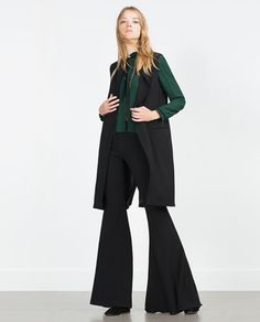 Image 1 of LONG WAISTCOAT from Zara