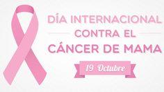 Día Internacional contra el cáncer de mama. Súmate al rosa.