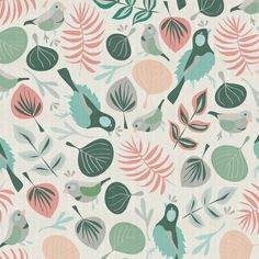 Bird Walk Art Print | Michelle Drew