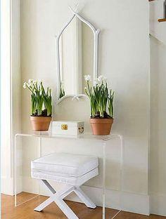 ideas para decorar recibidores pequeños y modernos