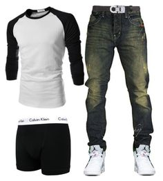 """Dominick 60"" by blvcksymba on Polyvore featuring Calvin Klein, Gucci, men's fashion and menswear"