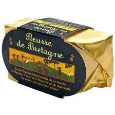 Beurre en Bretagne Butter, Fleur de Sel de Guerande
