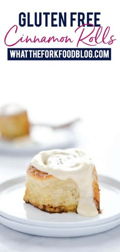 These are the Gluten Free Cinnamon Rolls you've been dreaming of! Soft, yeasty, and just as good as ones made with wheat! Gluten Free Recipes For Breakfast, Gluten Free Sweets, Gluten Free Breakfasts, Gluten Free Baking, Dairy Free Recipes, Vegan Recipes, Sin Gluten, Oreo, Gluten Free Cinnamon Rolls