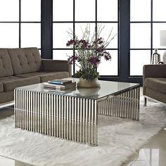 Tendência para sala de estar - Boretti Style Coffee Table