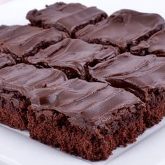 Basic Brownies Recipe