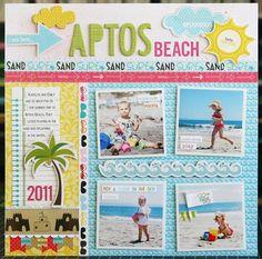"""Aptos Beach"", by Laura Vegas for Bella Blvd"