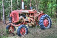Old Tractor reminds me of Tootie