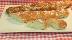 Pan casero rústico muy crujiente receta fácil