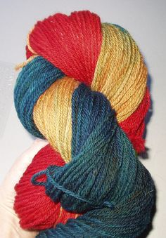 Bold Adventure Wool Yarn Worsted Weight by SunnyhillFiberDreams
